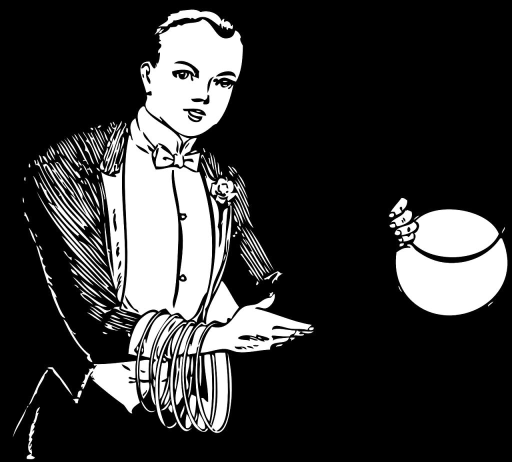 Magician Drawing